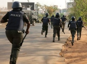 Armed police men on Friday in Makurdi manhandled journalists covering the peaceful protest by the Tiv Youths Organization, TYO, against the alleged verbal assault on the paramount ruler of the Tiv tribe, Tor Tiv Prof. James Ayatse by the Minister of Special Duties and Inter-Governmental Affairs, Senator George Akume.