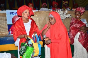 The Kaduna State chapter of the Police Officers Wives Association(POWA) has hosted the 2019 End of Year Party and Widows Empowerment program with Mrs. Habiba Ali Janga as the Chairperson of the Occasion. The empowerment program was held on the 4