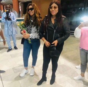 Rita Daniels joined her daughter Regina Daniels to travel in style to Cape Town, South Africa, and she kept her followers updated. The proud mother sha