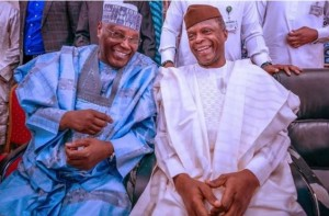Very important Nigerian dignitaries from across parties and different walks of life were in Abuja for the wedding of Nuhu Ribadu's son
