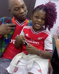 Oluseun Anikulapo Kuti (born 11 January 1983), commonly known as Seun Kuti, is a Nigerian musician, singer and the youngest son of famous afrobeat pioneer Fela Kuti. Seun leads his father's former band Egypt 80.  Seun and girlfriend Yetunde George Ademiluyi welcomed a baby girl on 16 December 2013 and named her Ifafunmike Adara Anikulapo-kuti.