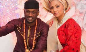 Lola Omotayo has gushed over her husband, the Nigerian singer, Peter Okoye of P-Square fame. Lola Omotayo-Okoye has taken to social media to remind her followers that her husband, Peter Okoye, was sexy then and still sexy now. She posted these before and after photos (seen below) on her Instagram page showing his hair growth.