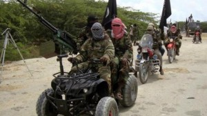 No less than 20 Nigerian soldiers were killed Tuesday and nearly 1,000 people displaced in a Boko Haram attack in Monguno, Borno state, a PM News report has revealed.  Two residents and a military source said the terrorists entered the town, posing as a convoy of soldiers.  They then attacked troops already inside the tow
