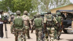 According to TheCable, the residents of villages along Damaturu-Maiduguri road say Boko Haram insurgents have sustained their attacks on the area but that soldiers are not fighting back.  Many were stranded early Janu