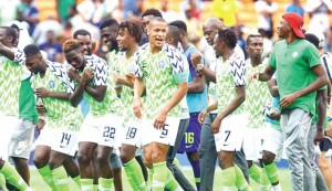 The Super Eagles have been drawn in Group C alongside giant killers Cape Verde, Central Africa Republic and Liberia for the Qatar 2022 World Cup qualifiers. The draw for the 40 African nations that would be participating in the qualifiers was made in Cairo, Egypt on Tuesday evening. AFCON 2019 winners Algeria were drawn in Group A with Burkina Faso, Niger and Djibouti. First runner-up Senegal were drawn in Group H with Congo, Namibia and Togo. Arsenal's Aubameyang and Liverpool's Mo Salah will lead their teams to a face-off as Gabon and Egypt have been drawn in Group F alongside Libya and Angola.