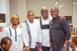 Super Eagles star, Olarenwaju Kayode is a happy man after getting the year started on a very bright note by launching his new multi-million naira mansion.  The 26-year-old forward who has scored eight goals and five assists for his Turkish topflight side Gaziantep Football Club this campaign shared the picture of the edifice on social media.  Located in the Lekki axis of Lagos state, the two-story building boasts of an elevator, a gym, a cinema and many other modern-day facilities that will keep the occupants highly comfortable.