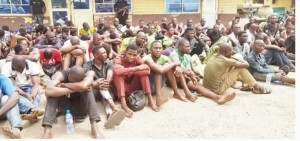 The Lagos State Police Command, on Wednesday, said it had arrested three suspects, Paul Peter, Rasaki Ibrahim and Damilare Abimbola, for allegedly killing one Kayode Babalola in the Alapere area of the state.  The state Commissioner of Pol
