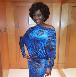 Veteran Nollywood actress cum fitness expert, Kate Henshaw has taken her fans many years back after sharing a throw back photo of herself.  The photo which dates as far back as 201