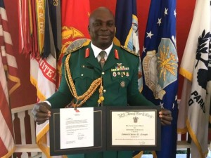 A Nigerian Army officer, Charles Nengite, a colonel, at the weekend, beat 380 other postgraduate students to the top position at the U.S. War College (USAWC), Carlisle, Pennsylvania.  The information was obtained from the college website, posted on Monday. Mr. Nengite's performance was the best by any foreigner in 38