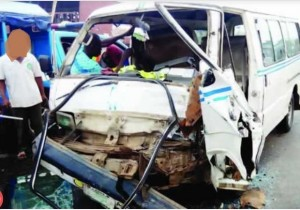 The Nation reports that no fewer than 20 people have been feared dead in an autocrash in Kano on Wednesday.