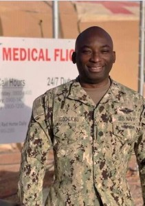 Meet Nigerian born US citizen, Obi Ugochukwu who was recently elevated as Commander in the US Navy.