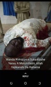 Suspected bandits Monday night attacked several communities in Malumfashi council area of Katsina State.  A man identified as Umar Isah was killed during the attack.  Isah was, until his death, a lect