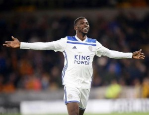 Leicester City striker, Kelechi Iheanacho has expressed happiness after scoring in his side's Carabao Cup semi-final 1-1 draw against Aston Villa on Wednesday night.  The Nigerian international came on as a substitute in the secon