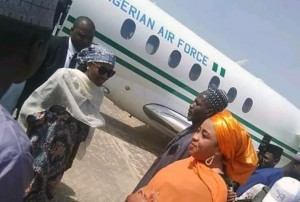 A debate has been raging on social media following the decision of President Muhammadu Buhari to allow his daughter, Hanan Buhari, to use the Presidential jet.