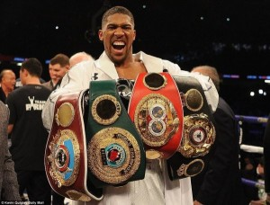 The unified champion is desperate to hold on to his three major world titles , but both the IBF and WBO have