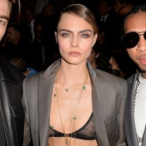 Cara Delevingne See Through Bra Photos