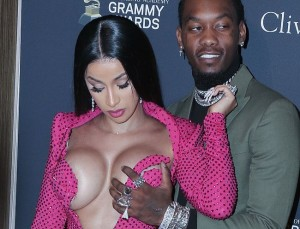 Cardi B Areola Slip And Sexy Moments