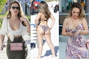 Carmen Valentina Nipslip And Sexy Bikini Moments