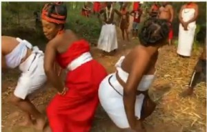 Chioma Chukwuka Under Fire For Twerking In A Benin Queen's Attire  Actress Chioma Akpotha under fire for twerking in a Benin Queen attire