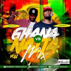 Download Music Mixtape Mp3:- DJ Daley – Ghana Vs Naija Mixtape Vol 2