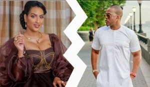 Ice Berg Slim, the Nigerian rapper who once had a romantic affair with Ghanaian actress, Juliet Ibrahim, has called on fans to ask the latter to desist from painting him black following his failed relationship with the beautiful actress.