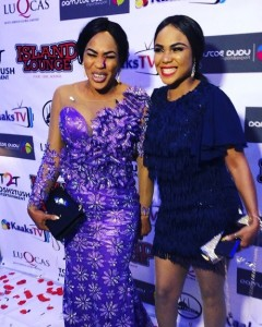 Nollywood actress, Iyabo Ojo has responded to accusations that she's fighting her friend and colleague, Faithia Balogun over a married man.  Recall that Ojo wen
