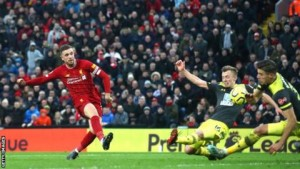 """Liverpool opened up the biggest lead by any team at the end of a day in English top-flight history with an emphatic victory over Southampton – but manager Jurgen Klopp says his side are """"not even close to being perfect""""."""