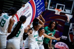 Nigeria lost 76-71 to the United States in the final Olympic qualifying match in Belgrade, Serbia yesterday. The Nigerians were leading the US 50-57 going into the final quarter of a very close game, but the USA fought back to overtake D'Tigress and win th
