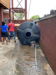 Two school children have been killed while two others sustained injuries when an overhead water tank fell into a classroom at Royal Kings Foundation Nursery and Primary School Nkpor-Agu in Idemili North local government area of Anambra State.