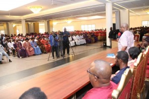 Rivers State Governor, Nyesom Ezenwo Wike has advised all his political associates seeking the post of governor to seek the support of
