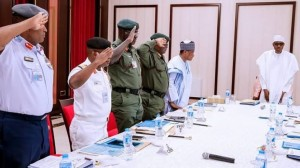 Details have emerged surrounding the refusal of the President, Major General Muhammadu Buhari (retd.), to sack the service chiefs after meeti