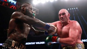 """""""You never know what to expect with Fury, but one thing for sure that is hard to believe is him knocking me out in 2 rounds, and being the aggressor,"""" said Wilder to BT Sport. """"I really can't see that at this point in time, but who knows?"""