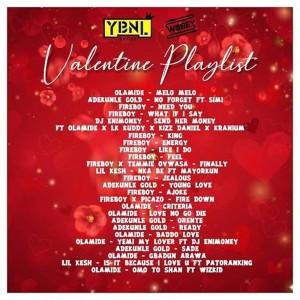 Download Music Mixtape Mp3:- DJ Enimoney – Valentine's Mix