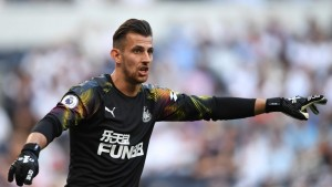 Martin Dubravka has made more saves than any other goalkeeper in the Premier League this season, but his biggest challenge has come from recent shooting practice in his garden with girlfriend L