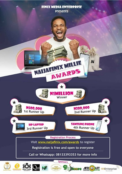 What you need to know about the 10 Winners Of The Naijafinix Millie Awards 2020 Contest. This is to announce to the general public that the Niajafinix Millie Awards online monetary promo which started on the 1st of April, 2020 was completed on the 31st of May, 2020.