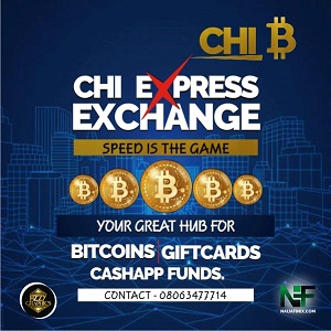 Chi Express Exchange is one of the best top-notch sellers on Bitcoins, Giftcards, ITunes etc I buy Giftcards, ITunes, Amazon, Steam, Sephora, Amex, Vanilla. etc at good rates and swift payment. I buy bitcoins and cashapp funds at good rates too and fast payment. We offer Zelle and PayPal services too.