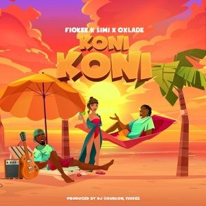 Download Music Mp3:- Fiokee Ft Oxlade And Simi – Koni Koni
