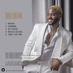 Download Music Mp3:- Korede Bello – Table For Two