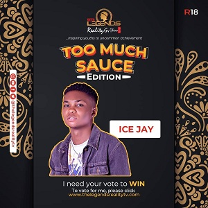 "Naijafinix Next Rated Artiste ""ICE JAY"" Needs Your Vote"