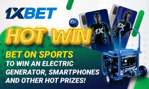 Win More At 1xBet With The Hot Ongoing Win Promotion