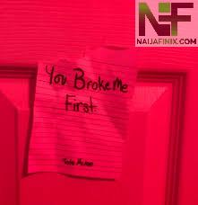 Download Music Mp3:- Tate McRae - You Broke Me First