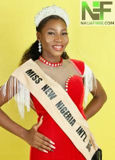 It is usually said that beauty is not complete until there is a genuine trace of brilliance. The 5th edition of Miss New Nigeria World Beauty Contest 2020/2021 was said to be remarkable and exceptional. As The top five Winners which includes the following;