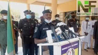 Police parade 40 suspecte
