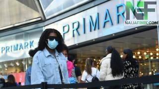 Primark has said the number of people visiting its stores in England and Wales last week after lockdown eased reached pre-pandemic levels.