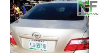 Dr Olatunde Adegbuyi's car