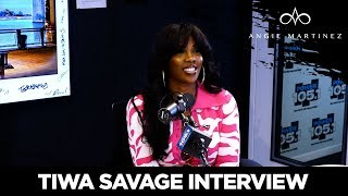 Tiwa Savage Reveals She's Being Blackmailed Over Her Sextape